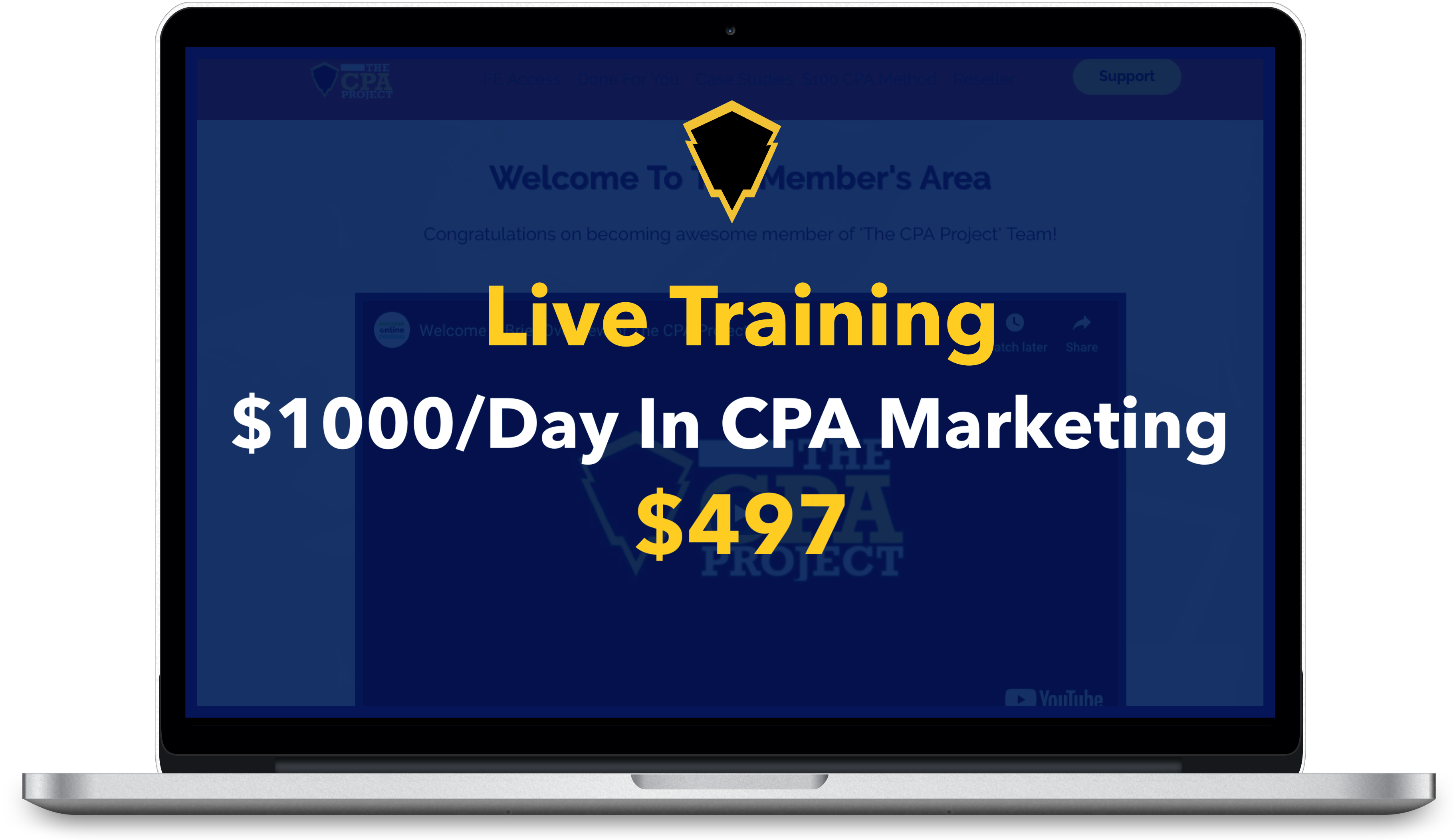 THE CPA PROJECT Review: Huge Bonus+Discount+OTO+Demo 9