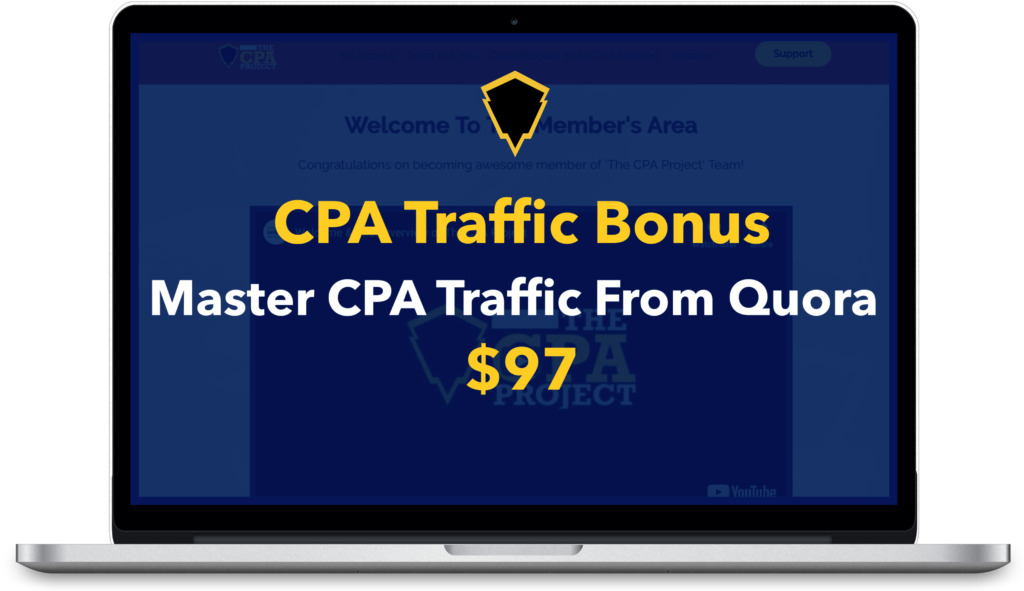 THE CPA PROJECT Review: Huge Bonus+Discount+OTO+Demo 10